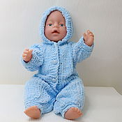 Куклы и игрушки handmade. Livemaster - original item hooded jumpsuit. Handmade.