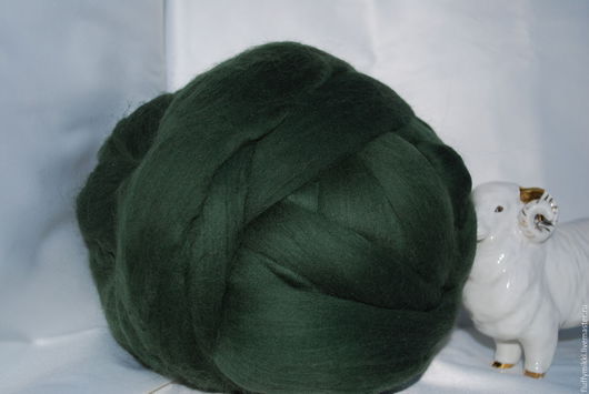 Австралийский топс меринос 18 мкм №212 темно-зеленый