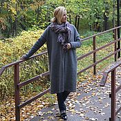 Одежда handmade. Livemaster - original item Cardigan warm Autumn melody oversized. Handmade.