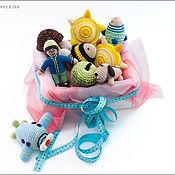 Куклы и игрушки ручной работы. Ярмарка Мастеров - ручная работа Набор развивающих игрушек. Handmade.