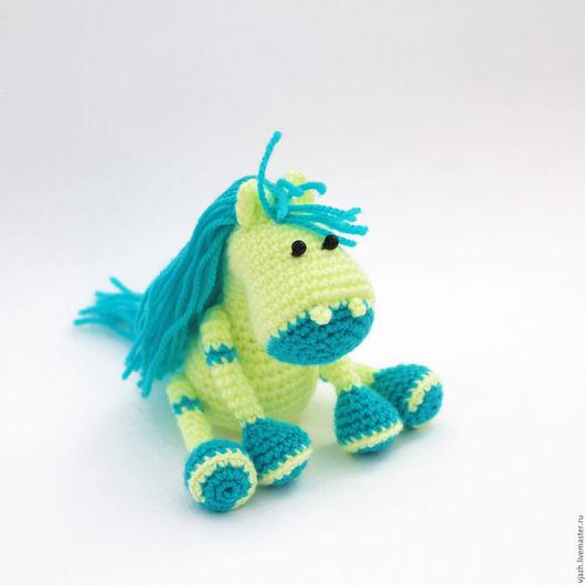 Игрушки животные, ручной работы. Ярмарка Мастеров - ручная работа. Купить Лошадь с неизвестной планеты. Handmade. Комбинированный, лошадка