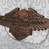 Сувениры и подарки handmade. Livemaster - original item Harley Davidson Орел. Handmade.