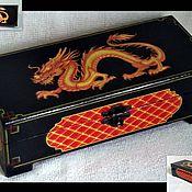 Для дома и интерьера ручной работы. Ярмарка Мастеров - ручная работа шкатулка Дракон. Handmade.