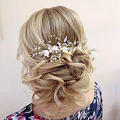 Свадебный салон handmade. Livemaster - original item Wedding hair accessory/Bridal jewelry For the hair. Handmade.
