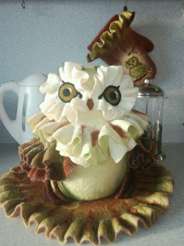 the tea cosy owl 2, Kettle Warmers, Izhevsk,  Фото №1
