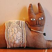 Куклы и игрушки ручной работы. Ярмарка Мастеров - ручная работа Бабушкин кот. Handmade.