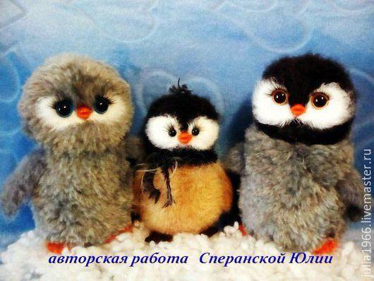 """Вязание ручной работы. Ярмарка Мастеров - ручная работа. Купить Мастер - класс """"Семейка пингвинов"""" 3 в 1. Handmade."""