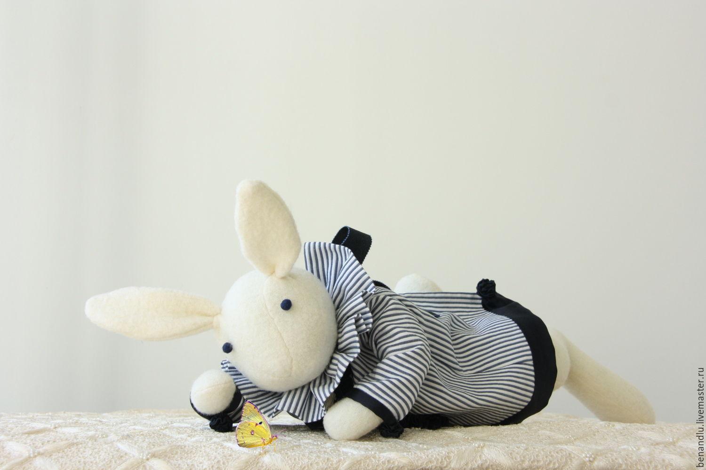 Флёр. Зайчик. Кролик. Зайка игровой, Мягкие игрушки, Санкт-Петербург,  Фото №1