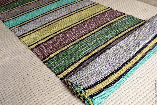 Текстиль, ковры ручной работы. Ярмарка Мастеров - ручная работа. Купить Половик ручного ткачества 304 см (№ 127). Handmade.