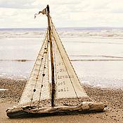 Подарки к праздникам ручной работы. Ярмарка Мастеров - ручная работа кораблик большой. Handmade.