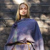 Одежда ручной работы. Ярмарка Мастеров - ручная работа Блуза войлочная Лавандовые поля. Handmade.