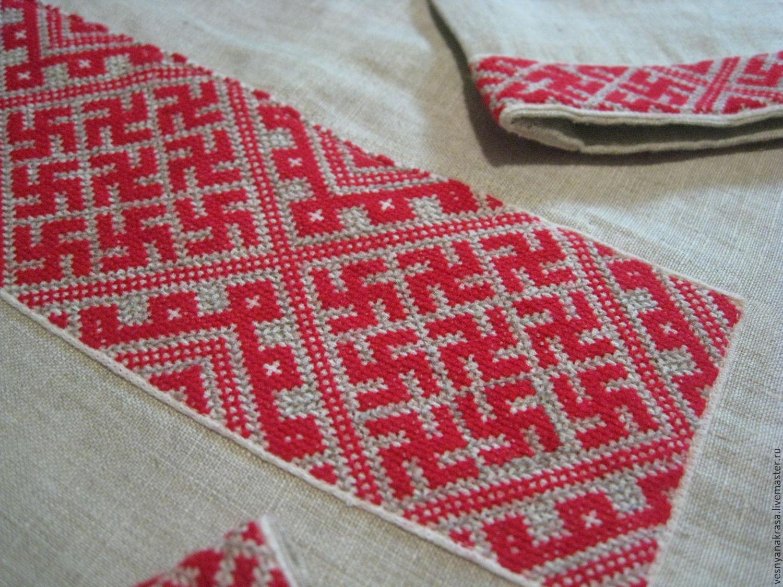 Вышивка для славянской рубахи 667