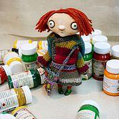 Куклы и игрушки ручной работы. Ярмарка Мастеров - ручная работа Маленькое цветное.... Handmade.