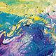 """Пейзаж ручной работы. """"Туманное Утро в Заливе Най Харн"""" картина с морем. ЯРКИЕ КАРТИНЫ Наталии Ширяевой. Ярмарка Мастеров."""