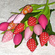 Декор в стиле Тильда ручной работы. Ярмарка Мастеров - ручная работа Тюльпаны из ткани. Handmade.