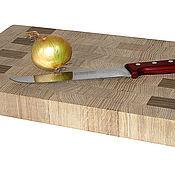 Для дома и интерьера ручной работы. Ярмарка Мастеров - ручная работа Доска разделочная 400х250х40мм - дуб. Handmade.