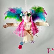Куклы и пупсы ручной работы. Ярмарка Мастеров - ручная работа Ангел живописи Леонард. Текстильная подвижная кукла. Handmade.