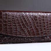 Сумки и аксессуары handmade. Livemaster - original item Wallet female crocodile IMA0004K5. Handmade.