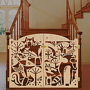 Для дома и интерьера ручной работы. Ярмарка Мастеров - ручная работа Ворота для лестницы.. Handmade.