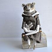 Куклы и игрушки ручной работы. Ярмарка Мастеров - ручная работа Лемур Томас интерьерная коллекционная кукла. Handmade.