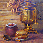 Картины и панно ручной работы. Ярмарка Мастеров - ручная работа Оладушки. Handmade.
