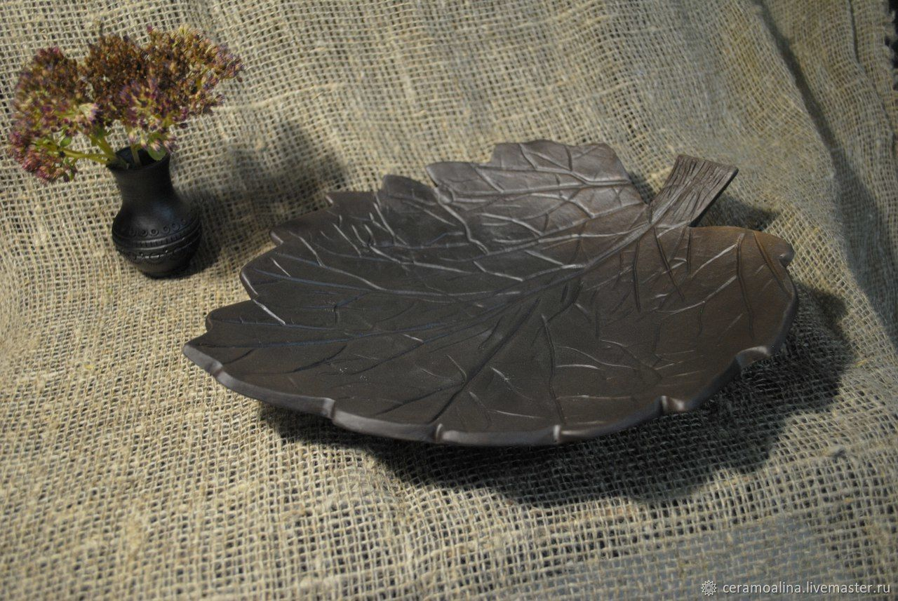 Candy-cracker 'LEAF' free shipping!!!, Candy Dishes, Skopin,  Фото №1