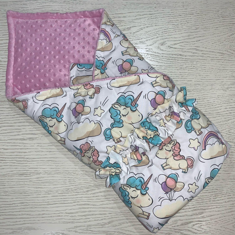 Конверт-одеяло для малыша, Конверты на выписку, Москва,  Фото №1