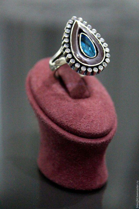 """Кольца ручной работы. Ярмарка Мастеров - ручная работа. Купить Кольцо """" Голубая Мечта """". Handmade. Голубой"""