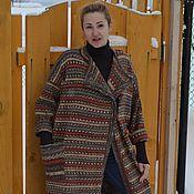 Одежда handmade. Livemaster - original item Coat Alpine Mart oversized wool. Handmade.