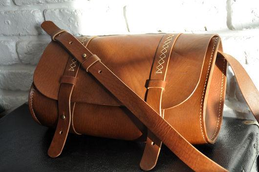 Женские сумки ручной работы. Ярмарка Мастеров - ручная работа. Купить Женская сумочка из натуральной кожи в этническом стиле. Handmade.