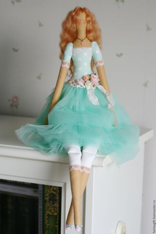 Текстильная кукла Фелиция, Куклы Тильда, Москва,  Фото №1
