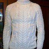 """Одежда ручной работы. Ярмарка Мастеров - ручная работа свитер """"Зимний"""". Handmade."""