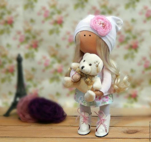 Коллекционные куклы ручной работы. Ярмарка Мастеров - ручная работа. Купить Интерьерная кукла ПРОДАНА. Handmade. Комбинированный, кукла интерьерная