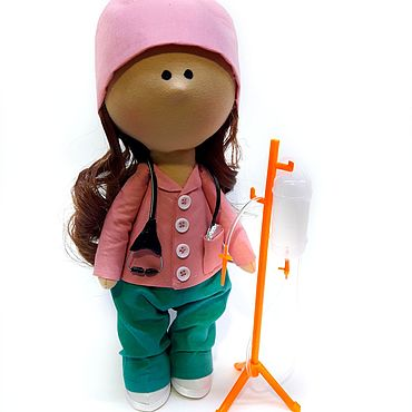 Куклы и игрушки ручной работы. Ярмарка Мастеров - ручная работа Интерьерная кукла - Врач. Кукла интерьерная - Врач.. Handmade.