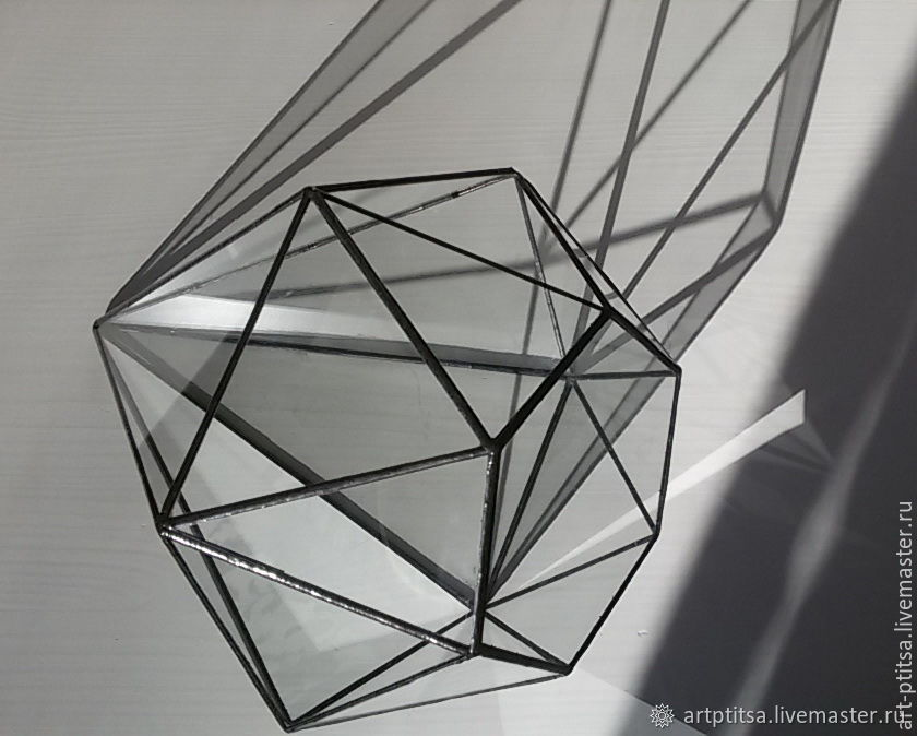"""Флорариум  """"Бриллиант""""1022-1, Флорариумы, Москва,  Фото №1"""