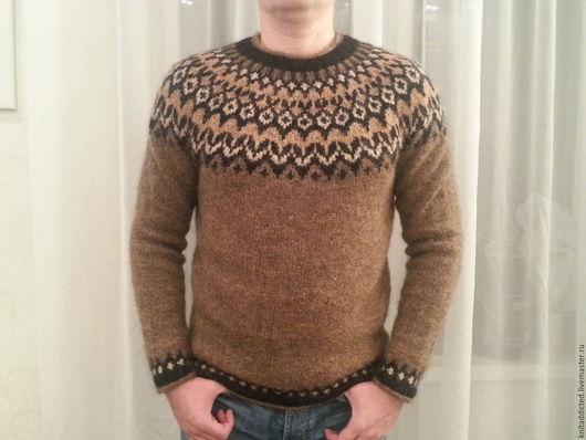 Кофты и свитера ручной работы. Ярмарка Мастеров - ручная работа. Купить Исландский свитер Lopapeysa. Handmade. Комбинированный, свитер