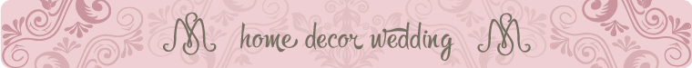S&M home decor wedding (SMalovich)