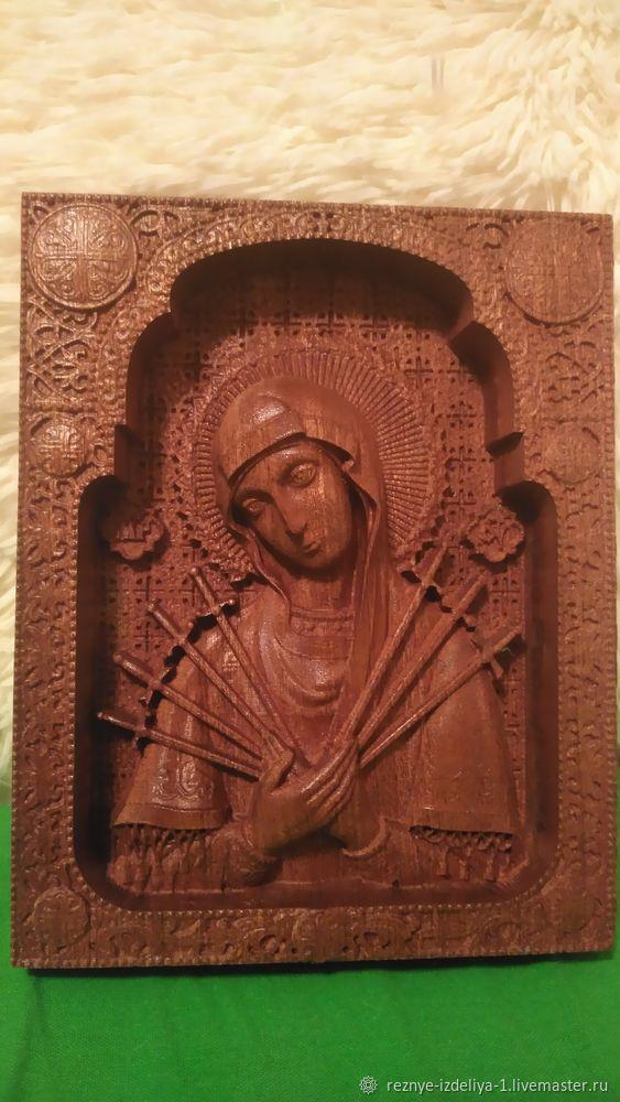 Семистрельная икона Божьей Матери, Иконы, Москва,  Фото №1