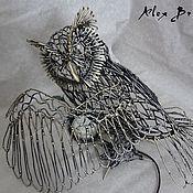 Для дома и интерьера handmade. Livemaster - original item Lamp Owl. Handmade.