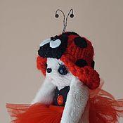 """Одежда для кукол ручной работы. Ярмарка Мастеров - ручная работа Комплект одежды """"Божья коровка"""". Handmade."""