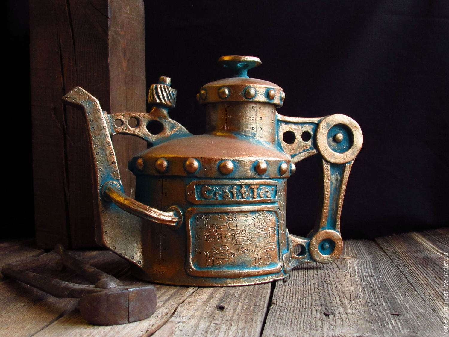 Teapot `Tea Craft` Master Isaev Evgeny