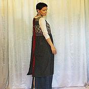 Одежда ручной работы. Ярмарка Мастеров - ручная работа Фартук-платье. Handmade.