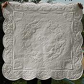 """Для дома и интерьера ручной работы. Ярмарка Мастеров - ручная работа Белое трапунто """"Софи"""". Handmade."""