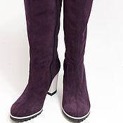 Обувь ручной работы. Ярмарка Мастеров - ручная работа Сапоги Fabiana violet. Handmade.