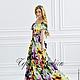"""Платья ручной работы. Ярмарка Мастеров - ручная работа. Купить Платье - сарафан """"Смузи"""". Handmade. Разноцветный, сарафан, платье в пол"""
