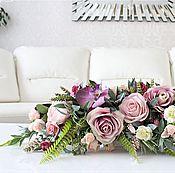 """Композиции ручной работы. Ярмарка Мастеров - ручная работа Букет цветов в вазе  """"Флорентина"""". Handmade."""