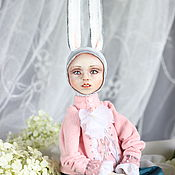 Куклы и пупсы ручной работы. Ярмарка Мастеров - ручная работа Авторский заяц Ян. Handmade.