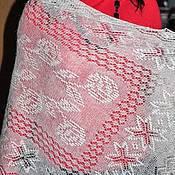 Аксессуары ручной работы. Ярмарка Мастеров - ручная работа Шарфик очень красивый и необычный из натурального пуха.. Handmade.