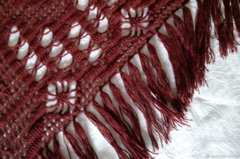 Burgundy shawl, Shawls, Moscow,  Фото №1