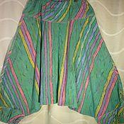 Одежда ручной работы. Ярмарка Мастеров - ручная работа Алладины из хлопка Диагональ. Handmade.